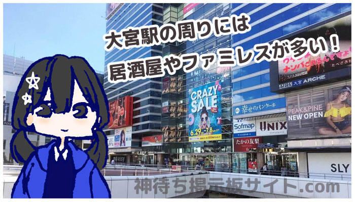 大宮駅周辺の画像